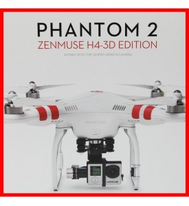 New DJI Phantom 2  Zenmuse H4-3D Gimbal Edtion