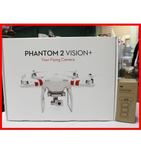 New Model DJI Phantom 2 Vision+ V3.0 with Extra Battery Ready to ship out