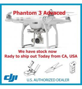 DJI Phantom 3 Advanced Fist Come, Fist Served US Dealer Ship from CA USA