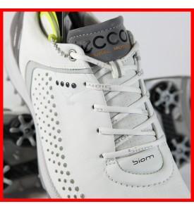2015 New Ecco Womens Golf Shoes Biom G 2 - White / Silver EU 36 37 38