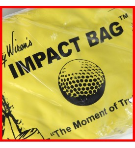 Golf Impact Bag Full Swing Golf Training Aid Original by Dr Gary Wiren's