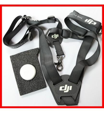 DJI Inspire 1 Remote Controller Shoulder Back Strap Part 44 and Lens Cover $30