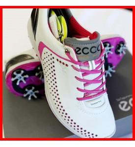 2015 New Ecco Womens Spike Golf Shoes Biom G2 - White / Candy EU 36 37 38 39