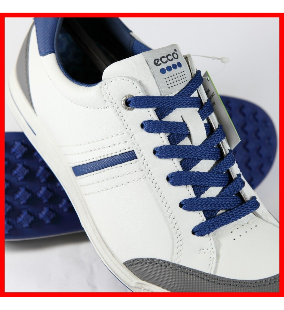 Ecco Mens Golf Street Retro - White