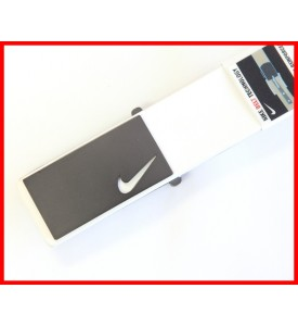 New Nike Golf Belt Sleek Modern Plaque White Rory McIlroy Belt 32 34 36 38 40