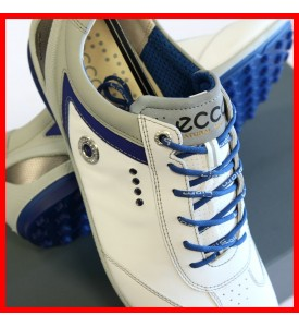 2015 New Ecco Mens Golf Shoes BIOM Zero Plus WHITE / ROYAL EU 40 41 42 43 $200