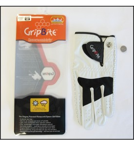 Womens Golf Glove #1 GripBite All Weather Gloves Large (22) 3 Pairs $45
