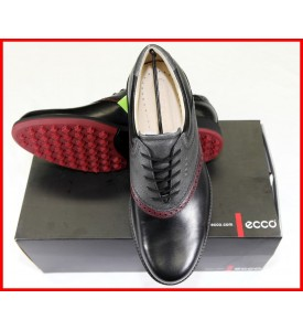 New ECCO Mens Golf Shoes Tour Hybrid GTX Black Spikeless EU 40 41 42 $250
