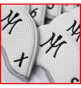 2015 Miura Golf Iron Headcover Full Set Authentic11 Pc White Black 3I~P/A/S/X