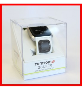 New TomTom Golf GPS Watch White / Green Money back guarantee Authorized Dealer