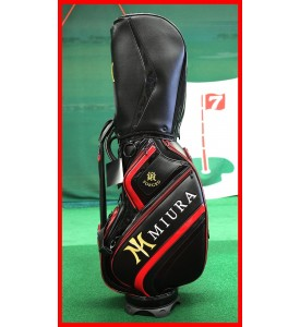 2015 New Miura Golf Tour Staff Golf Bag Limited Ed $750