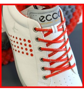 2015 New Ecco Mens Golf Shoes Biom Hybrid 2 WHITE / FIRE EU 39 40 41 42 43 $200