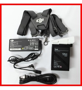 DJI Inspire 1 100W Adaptor / AC Cable / TB48 Battery / Remote Shoulder Strap